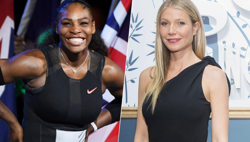 Serena Williams Gwyneth Paltrow
