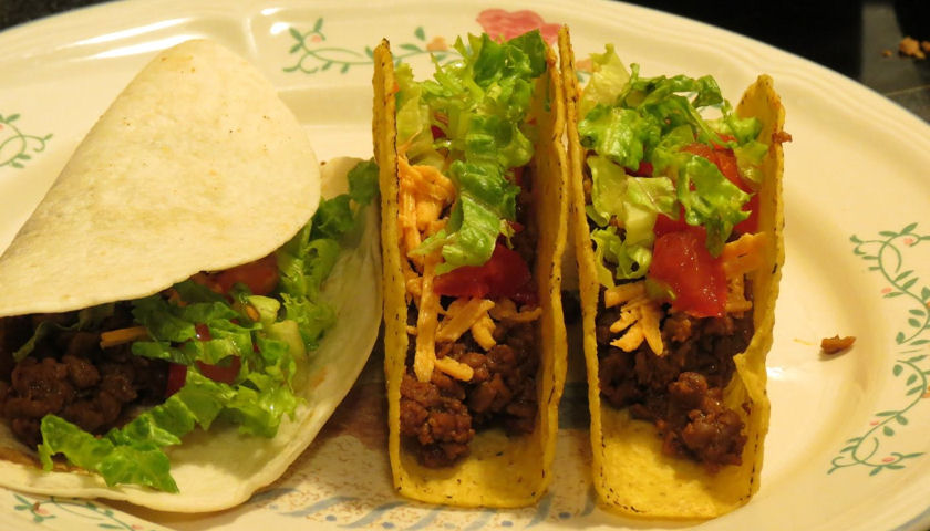 beefless tacos